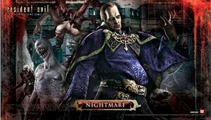 Resident Evil - Nightmare Game Mat