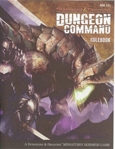 Dungeon Command: Heart of Cormyr: Rule Book