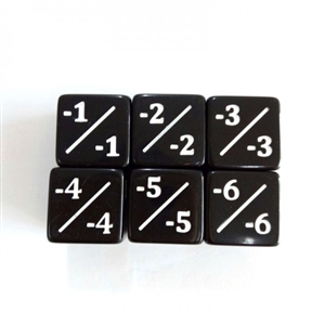 - Counter dice (set of 5)