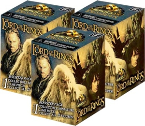 Lord of the Rings Heroclix Booster Brick 6-Pack