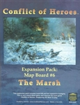 Conflict of Heroes: Map Board #6 - The Marsh