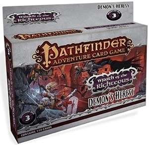 Pathfinder Adventure Card Game: Wrath of the Righteous: Demon's Heresy Adventure Deck #3