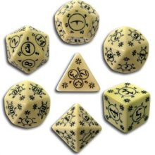 Pathfinder: Rise of the Runelords Dice Set (7 dice)